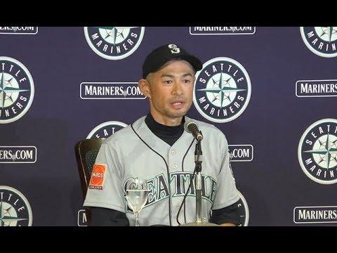 イチロー引退、日米通算4367安打-米大リーグ・マリナーズ