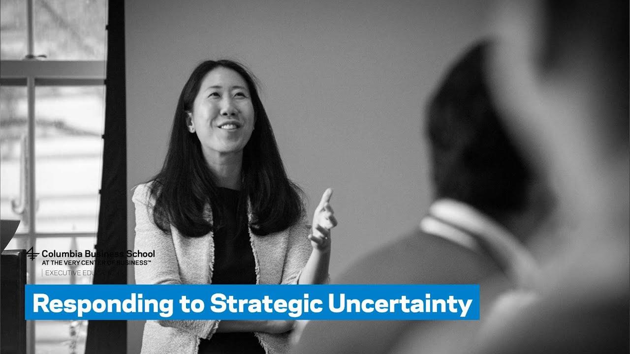 Responding to Strategic Uncertainty