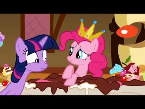 Pinkie Eating Celestia's Cakes - My Little Pony: Friendship Is Magic - Season 1