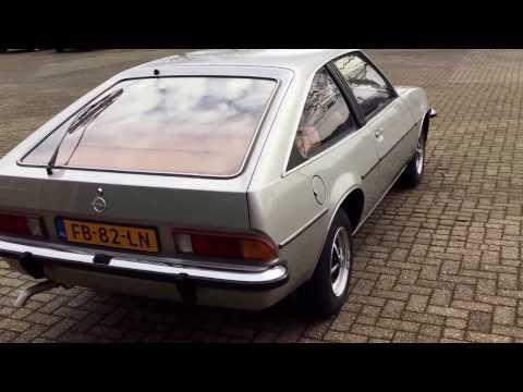 1980 Opel Manta 20S Berlinetta CC For Sale