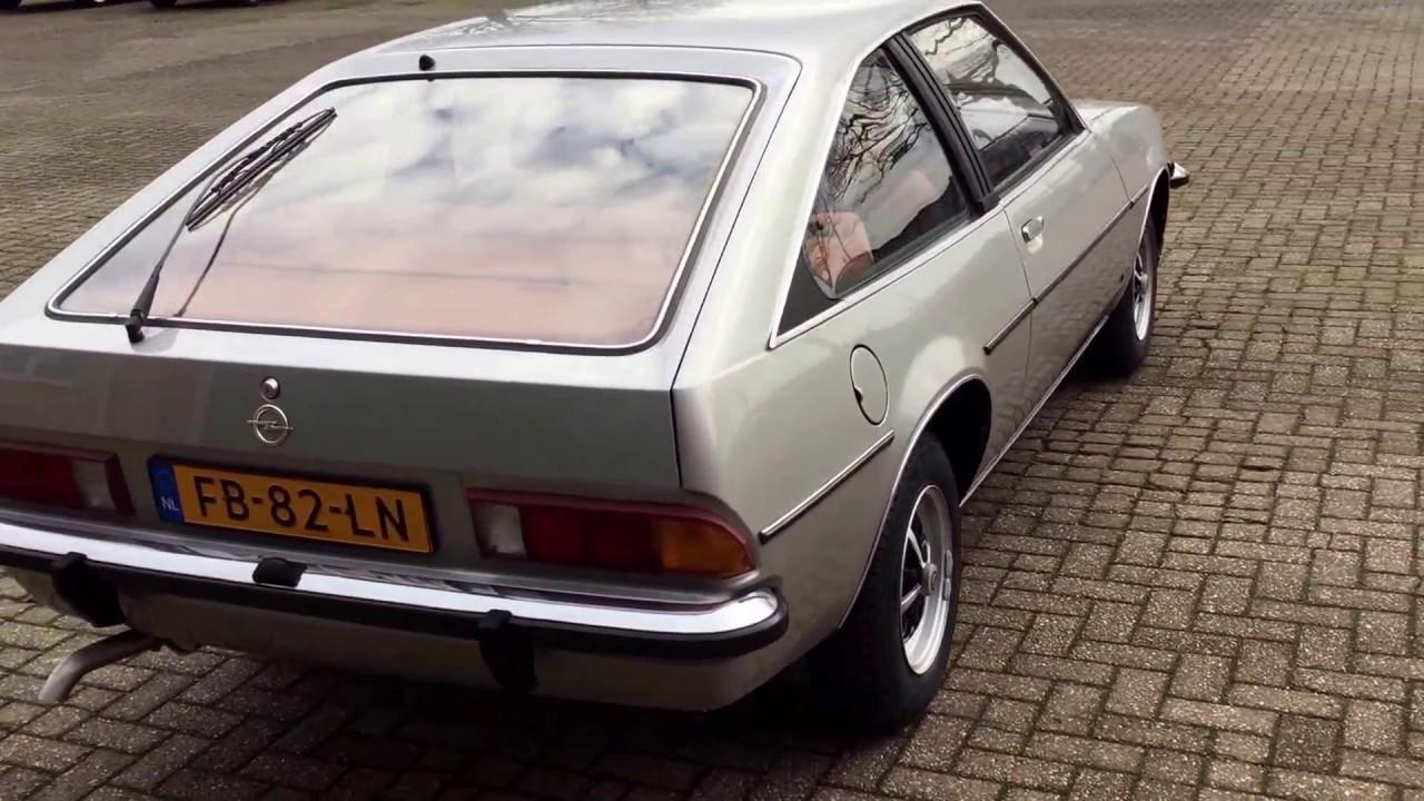 1980 opel manta 20s berlinetta cc for sale youtube - Opel manta berlinetta coupe ...