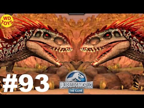 New Jurassic World The Game -  Episode 93 Carnivore Matchup 2 Indominus Rex Vs Gameplay  WD Toys