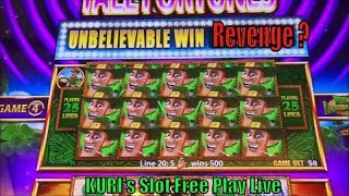 ★Revenge Again?☆Slot Free Play Live★Dancing Drums/Wild Panda Gold/Buffalo Gold/W4 Tall Fortunes Slot