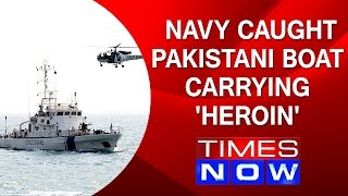 Top Story | Indian Navy Caught Pakistani Boat Carrying 'HEROIN'