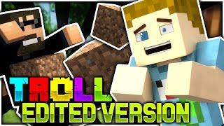 minecraft   trolling ssundee with dirt lel   troll craft edited version
