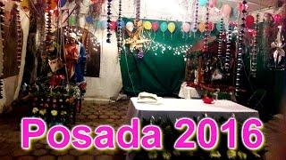 Posada Navideña 2016 en Santa Apolonia Teacalco