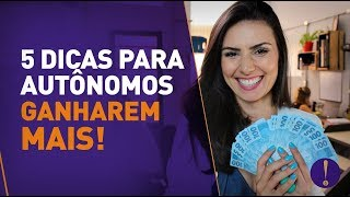5 DICAS PARA SOBRAR DINHEIRO! | AUTÔNOMOS E FREELAS  (Funcionou comigo)