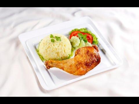 Món Ngon Mỗi Ngày - Cơm gà xối mỡ