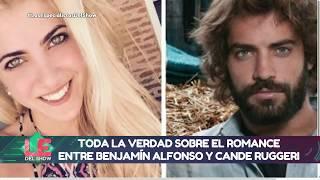 """Benjamín Alfonso desmintió a Cande Ruggeri y aclaró: """"No fui novio de ella"""""""