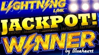 ★★JACKPOT HANDPAY★★ LIGHTNING LINK slot machine AMAZING RUN with BIG JACKPOT WIN!