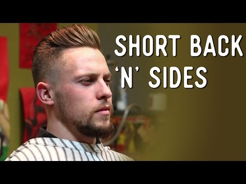 Haircut Tutorial - Classic Short Back 'n' Sides. Finished With Straight Razor
