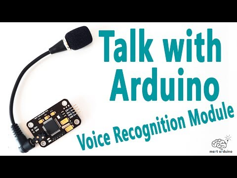 How to Talk with Arduino Board | Voice Recognition Module | Mert Arduino and Tech