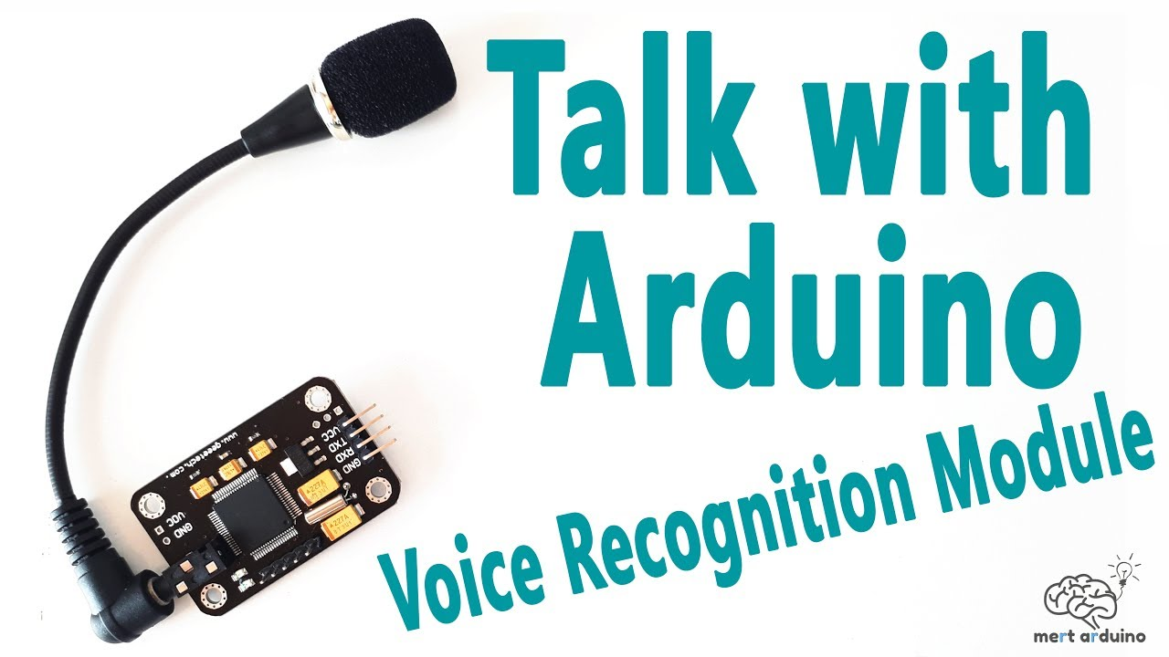 How To Talk With Arduino Board Voice Recognition Module Mert Activated Home Automation Electronic Circuits Diagram