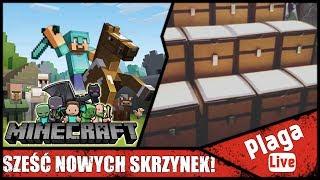 SZEŚĆ NOWYCH SKRZYNEK! (Minecraft Sztynx #72) | PlagaLive