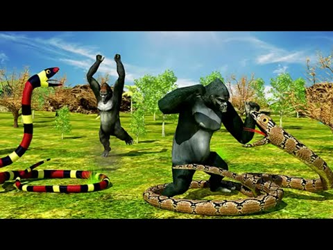 Anaconda Snake Simulator - Clan Of Anaconda Snakes - Angry Attack 3D - Wild Snake Survival 2017