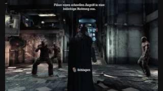 Batman Arkham Asylum Demo Gameplay Part 1 German