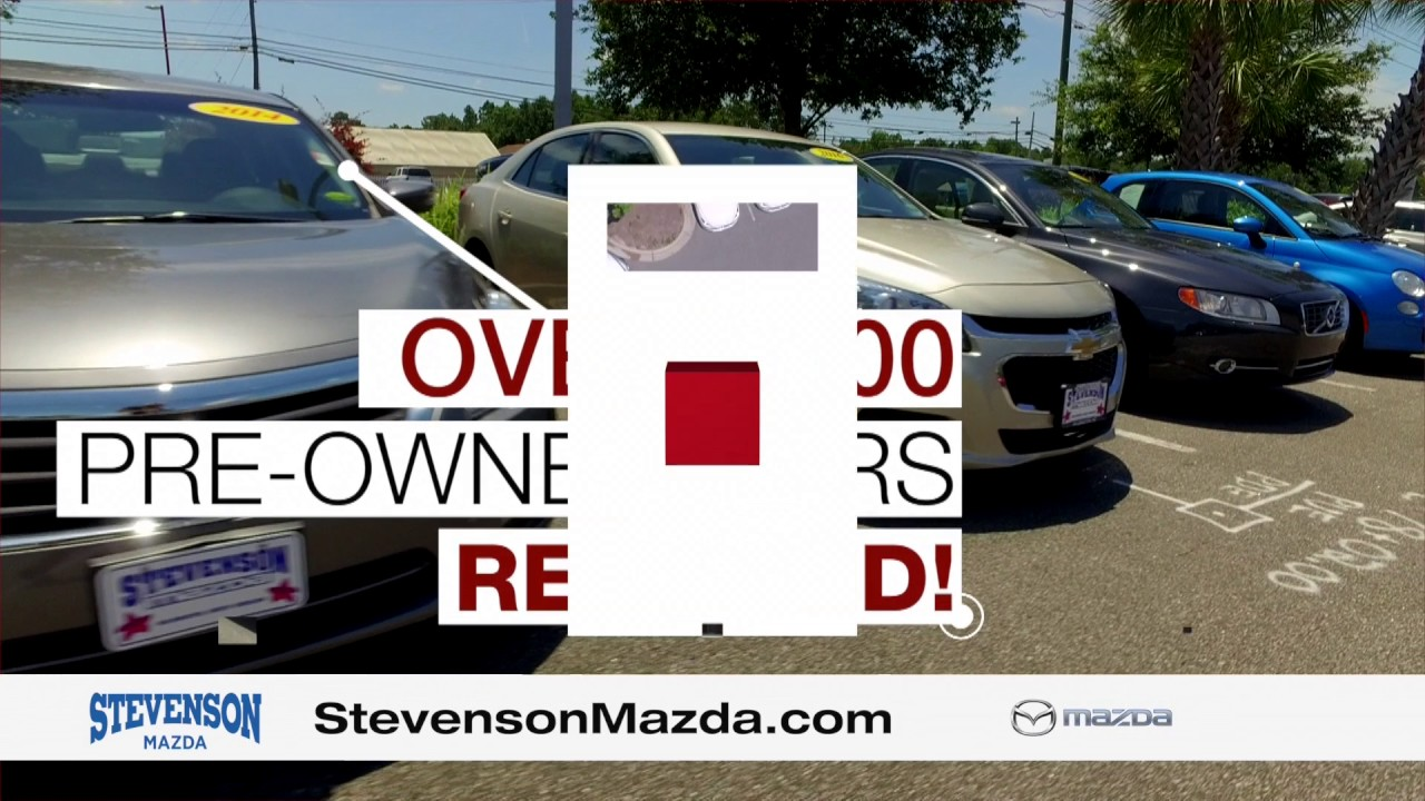 Stevenson Mazda Wilmington   Test Drive TODAY!