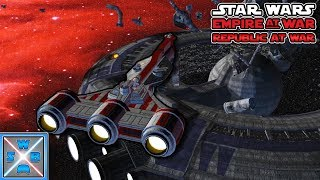 Die Schlacht der CORVETTEN! - Lets Play Star Wars Empire at War - Republic at War Mod #7