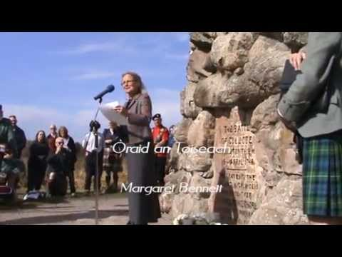 Gàidhlig Society of Inverness Culloden Commemoration 2014 pt 1
