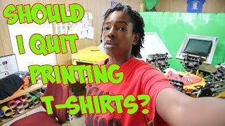 Local T-shirt Printer Charges $100 For 29 Shirts