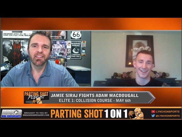 "Elite 1's Jamie Siraj ""I don't think anyone at 135 pounds in Canada beats me"""