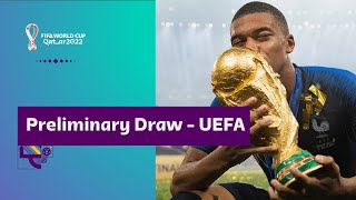 Preliminary Draw UEFA Coming 7 December FIFA World Cup Qatar 2022