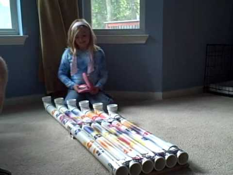 Blue man group kids music instrument homemade project for Diy music projects