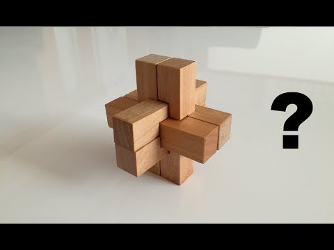 Awesome Puzzle Wooden Cross | How To Solve It