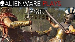 Alienware Plays Assassin's Creed Odyssey - Free Roam Gameplay on Aurora Gaming PC (RTX 2080)