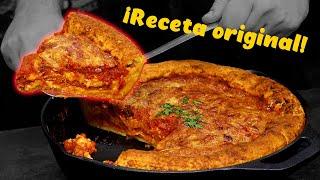 PIZZA estilo CHICAGO (Deep Dish Pizza) - La vuelta al mundo cocinando