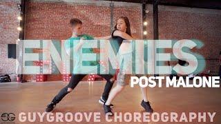 Enemies @PostMalone ft @DaBaby | @GuyGroove Choreography