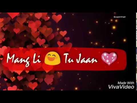 Romantic Punjabi Whatsapp Status Video | Rakh Li Pyar NaL |