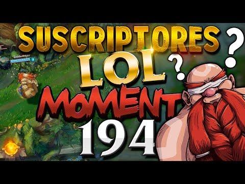 ESPECIAL 194 | SUSCRIPTORES LOL MOMENTS (League of Legends) thumbnail