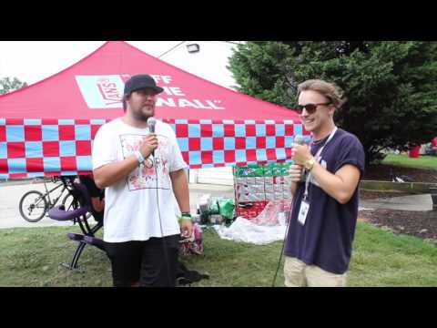 Warped Tour 2016 Oceans Ate Alaska Interview| Band Chats band name and touring the US VS the UK
