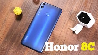 Honor 8C Unboxing -First Snapdragon 632 || Overview A True Flagship?!