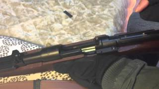 G&G G980SE Mauser kar98k shell ejecting test