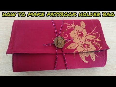 how to make passbook holder bag at home magical hands hindi 