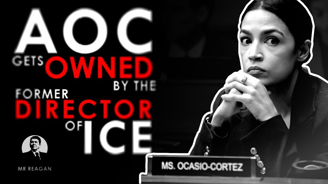 Mr Reagan AOC gets OWNED by ICE Director