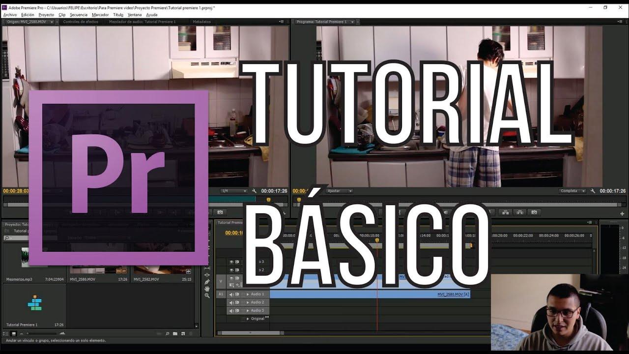 Introducción a Adobe Premiere Pro CS6 – Tutorial Básico | Español 2016