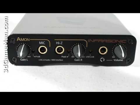 #1004 - Infrasonic Amon USB 2.0 Audio Interface Video Review