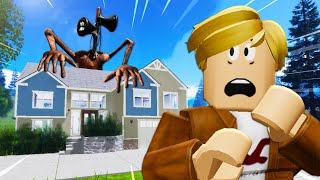 He Was Stalked By Siren Head! A Roblox Movie