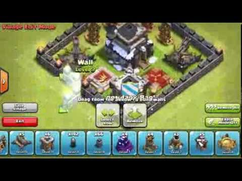 Clash of clans best town hall 9 trophy hunting base speed build w