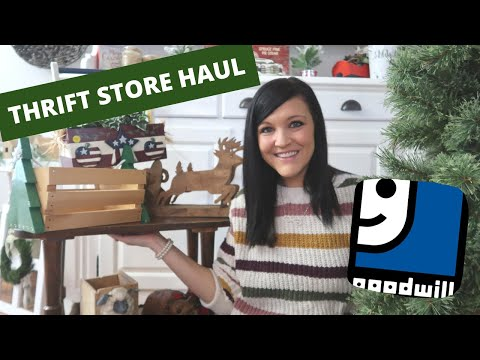 THRIFT STORE HAUL | GOOD WILL FINDS | GOOD WILL SHOPPING | CHRISTMAS THRIFT STORE FINDS