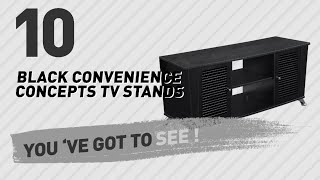 Black Convenience Concepts TV Stands // New & Popular 2017