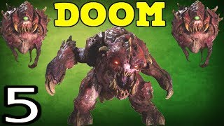 Doom 4 - АД ПРИШЁЛ НА МАРС #5