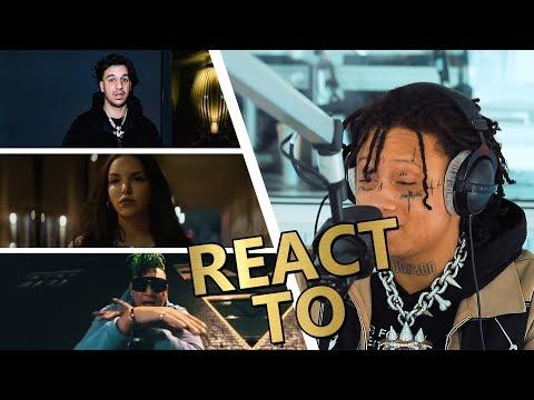Trippie Redd REACT TO Ufo361, Juju & Lil Lano ⚡ JAM FM