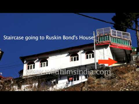 Ruskin Bond's house in Mussoorie