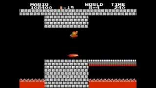 Super Mario Bros. Last Level (World 8-4)