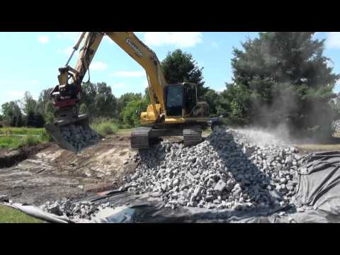 Rototilt: general excavating with a tiltrotator