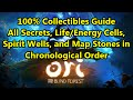 Ori and the Blind Forest - ALL Secret Areas and Collectibles